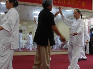 stage à GuangFu Zheng, berceau du TaiJi style yang
