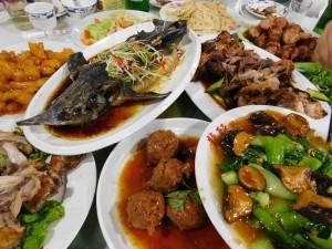 repas à Beijing